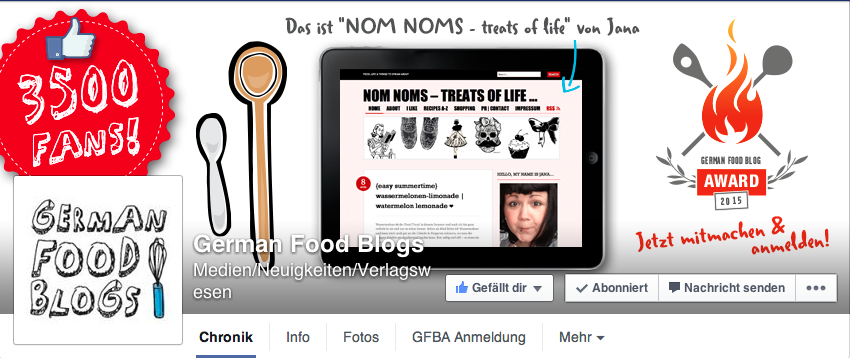 NOM NOMS ist #dailyblog auf German Food Blogs