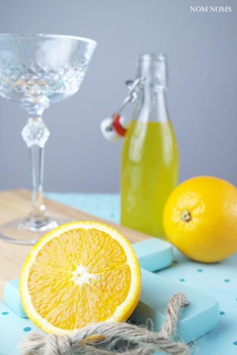 zitrus-ingwer-sirup | citrus ginger sirup (vegan) ❤